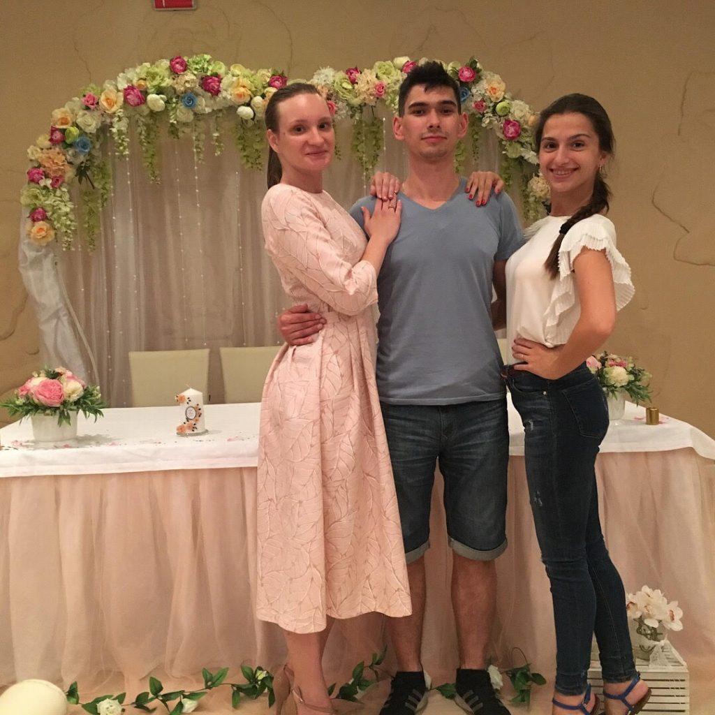 Наталья и Андрей. Репетиция в ресторане.