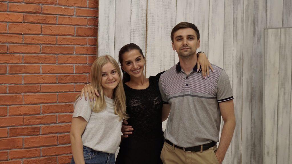 Станислав и Дарья. Одна из очень трудолюбивых пар.