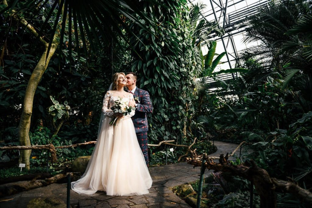 Свадебная пара Елена и Руслан
